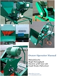3 HP Electric Powered Bokashicycle Food Waste Pulverizer